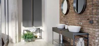Дизайн ванной комнаты в стиле лофт – интерьер, мебель, плитка, 31 фото