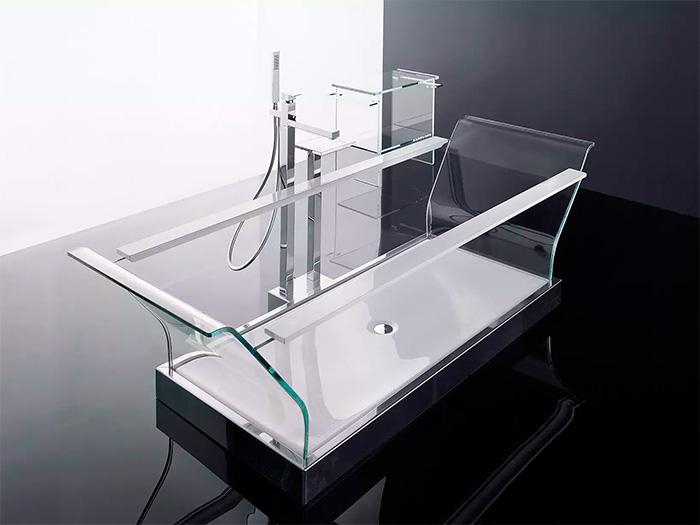 модели из стекла