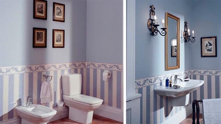 Обои – английский стиль, классика с имитацией обшивки стен деревом