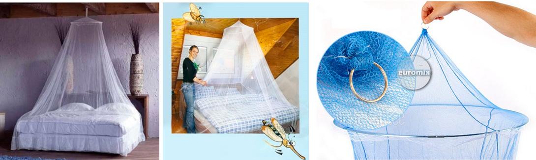 Москитная сетка – успешный импровизированный навес