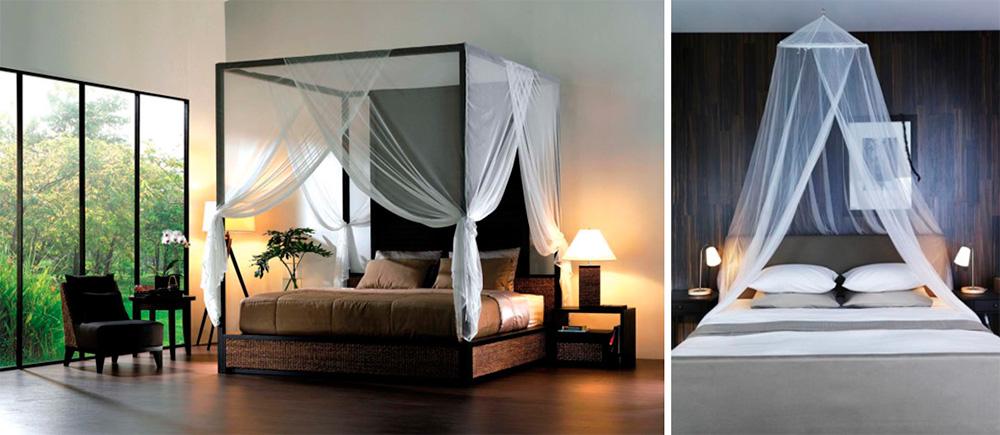 Стальной держатель для балдахина на взрослую кровать в современном стиле