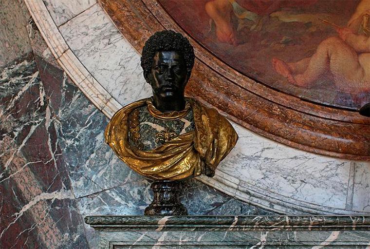интерьер в стиле Людовика XIV
