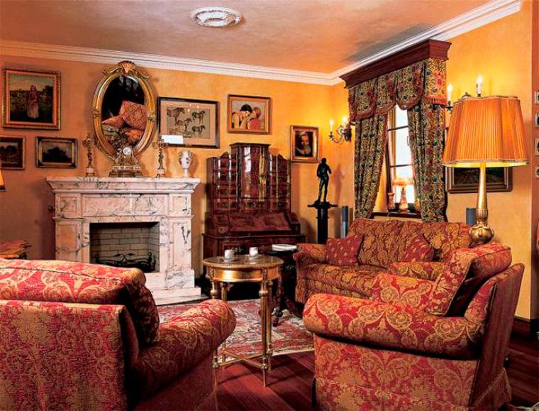 Стиль барокко в интерьере – фото в квартире