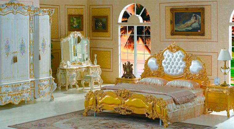 Оформление пола в квартире в стиле барокко