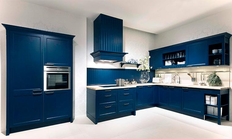 Голубая и синяя мебель