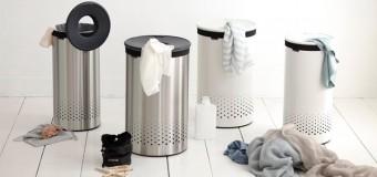 Корзина для грязного белья в ванную