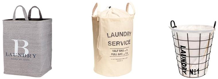тканевые корзины для грязного белья
