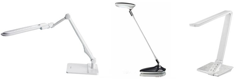 Настольные лампы с современным внешним видом