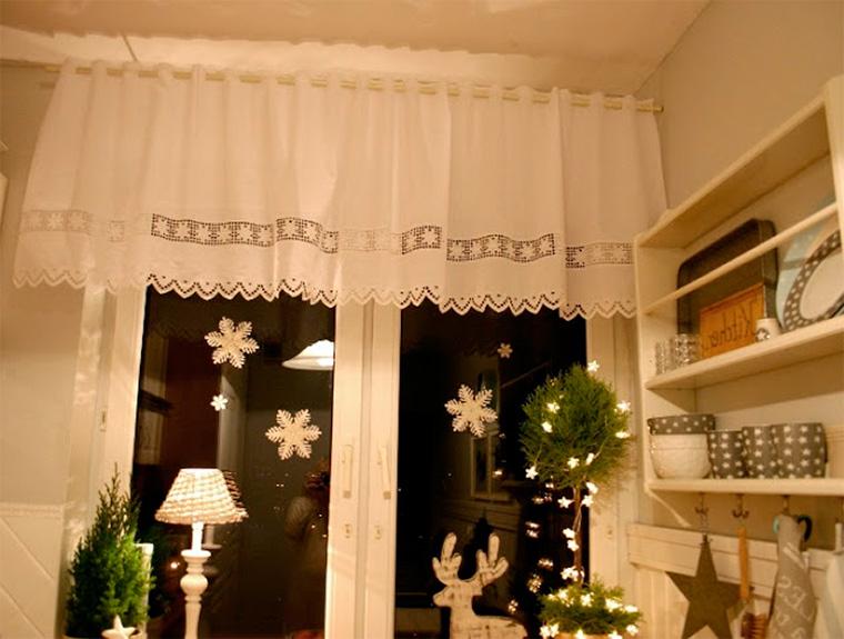 Шторы на кухню на маленькое окно, фото
