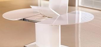 Кухонный стол овальный раздвижной