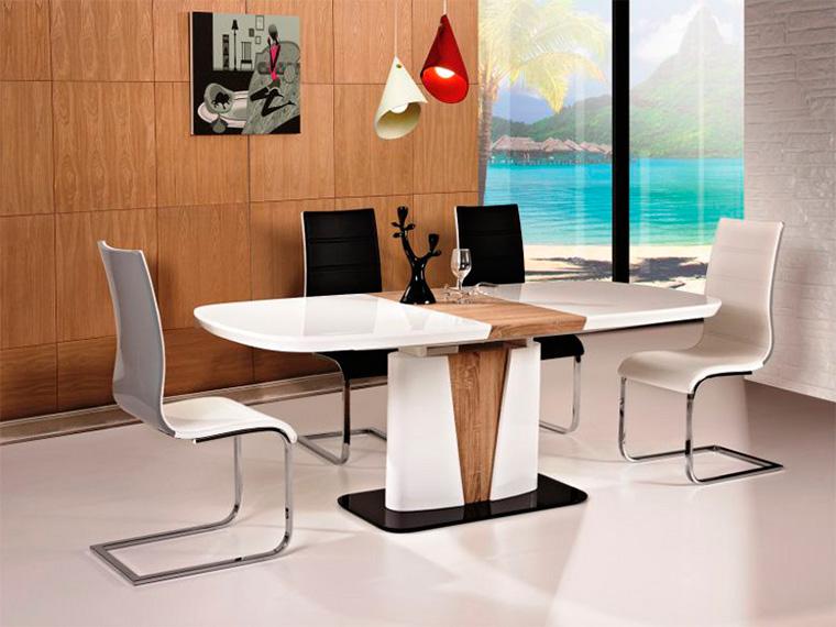 Стол овальный раздвижной для кухни
