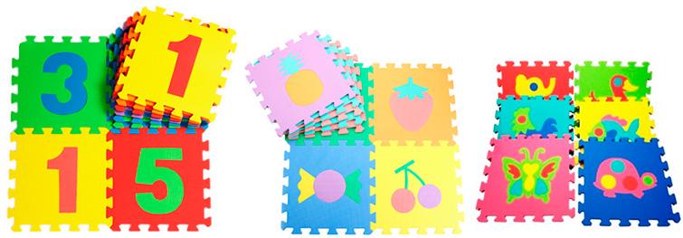 Изучаем буквы и цифры, формы, предметы