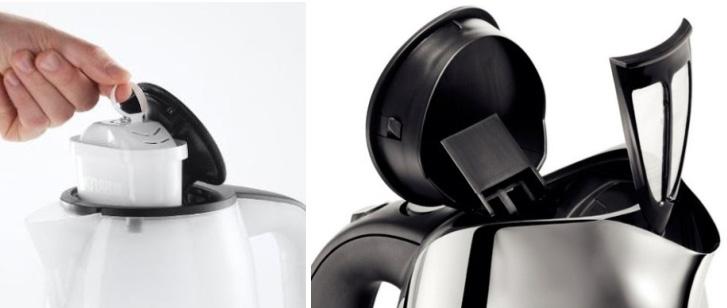 фильтр-кувшин, интегрированный в чайник