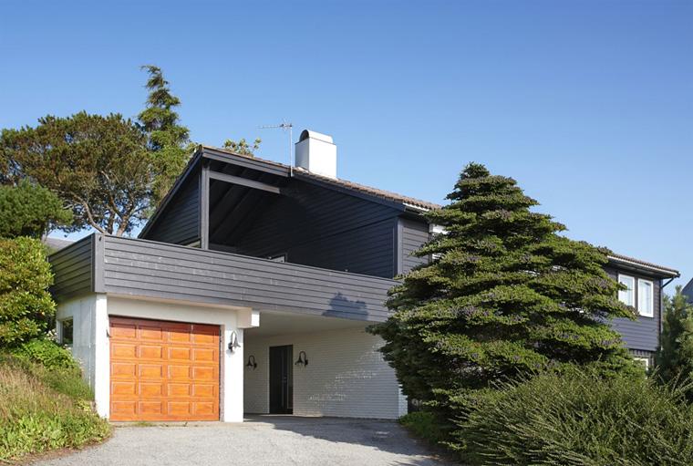 Современный сайдинг – фото домов