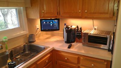 ТВ для небольшой кухни