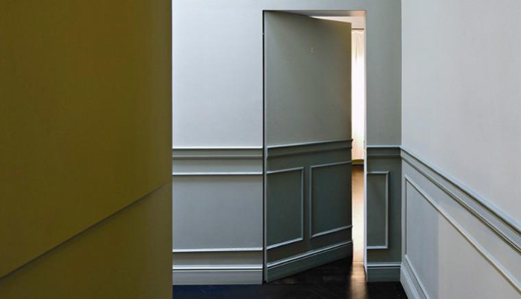 Невидимые скрытые двери без наличников