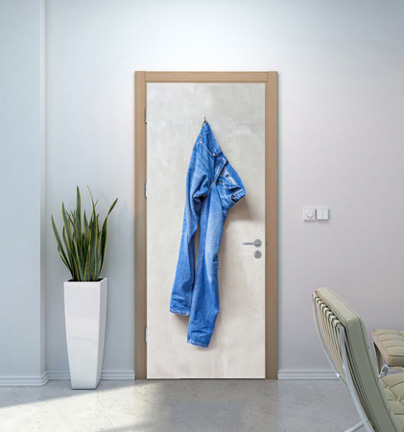 фотообои на двери