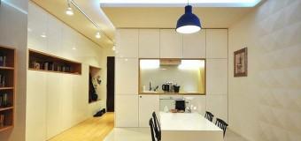 Дизайн кухни без окна