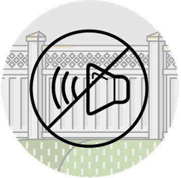 Акустический шумозащитный забор