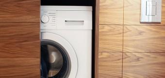 Шкаф под стиральную машину, фото