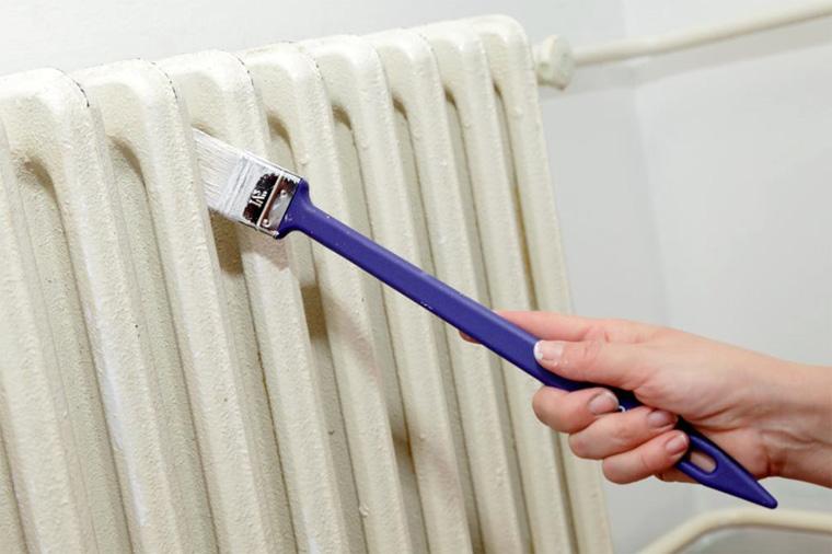 Краска для батарей отопления без запаха