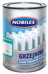 Силиконовая огнеупорная краска для металла Nobiles