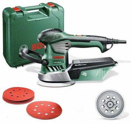 Эксцентриковая шлифовальная машина Bosch PEX 400AE