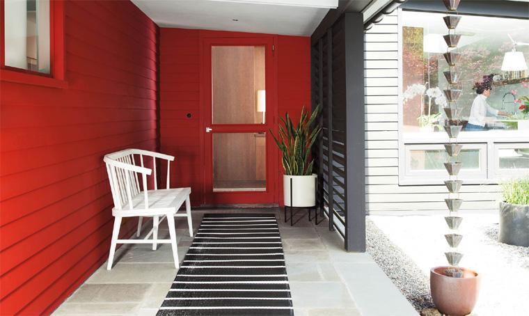 Как использовать красный в интерьере?