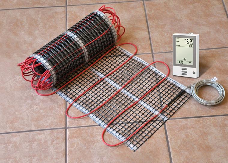 Электрические маты для теплого пола