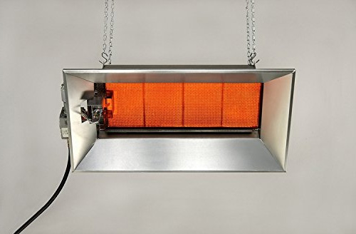 Инфракрасный электрический обогреватель для гаража