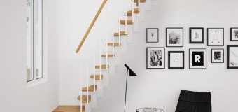 Лестница в скандинавском стиле