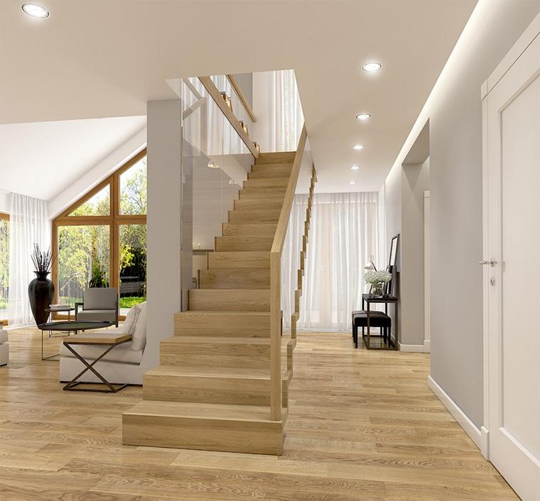 Лестница в скандинавском стиле, фото