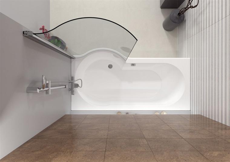 Ширмы для ванной