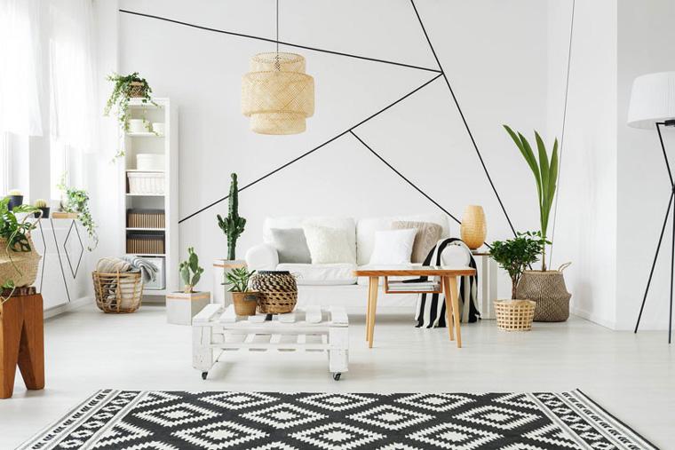 Фото. Шестиугольники, ромбы, треугольники, квадраты появятся в основном на полу
