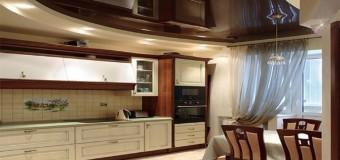 Потолок на кухне – какой лучше?