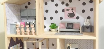 Как сделать домик для кукол: мастер-класс, фото и чертежи, видео