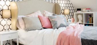 Маленькая спальня 12 кв м – реальный дизайн интерьера, фото
