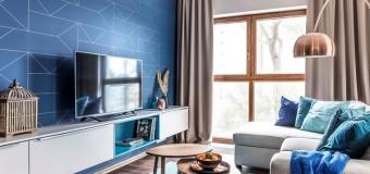 Самые модные обои в 2018 году для стен гостиной, спальни, кухни, фото