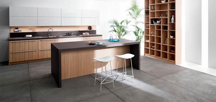 Серая плитка на кухню: серые полы и сочетание серой плитки в интерьере