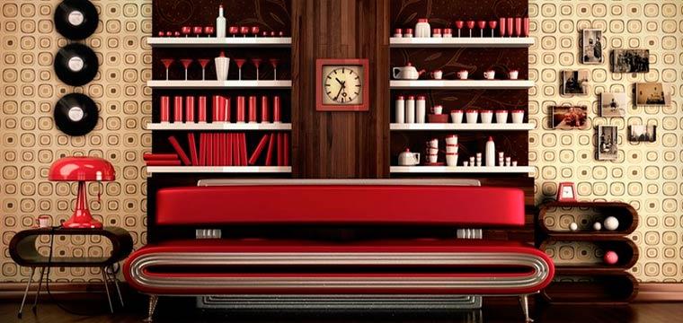 Большие настенные часы с минутной стрелкой для кухни и гостиной