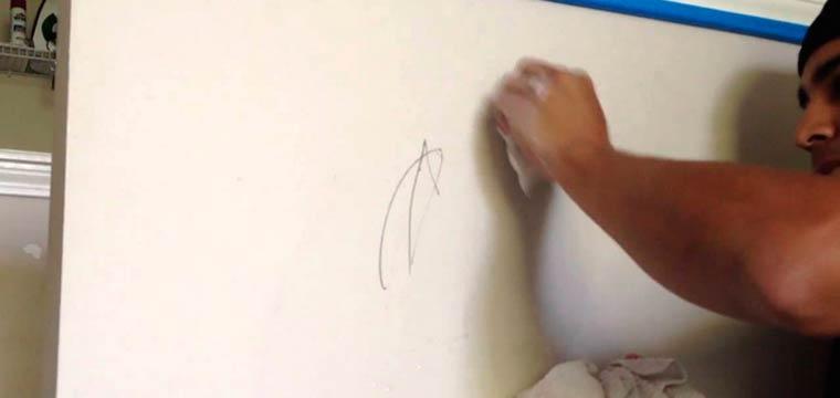 Как убрать масляные пятна со стены — MOREREMONTA