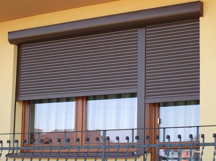 Рольставни металлические защитные и ролеты наружные на окна