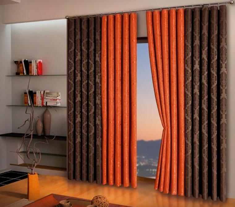 Дизайн штор для зала фото новинки