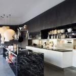 Модные кухни без верхних навесных шкафов