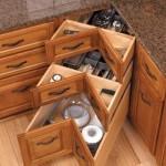 Современное наполнение кухонных шкафов