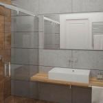 Интерьер ванной – минимализм со скандинавскими чертами