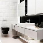 Современный минимализм ванной комнаты