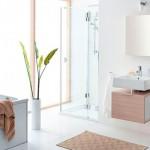 Современный минимализм ванной комнаты – выбираем мебель и декор