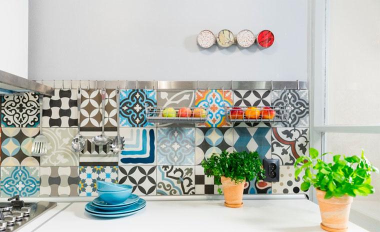 Керамическая плитка пэчворк для кухни