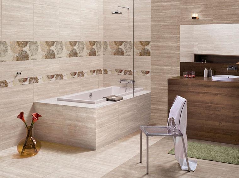 Плитка в ванную, ее выбор